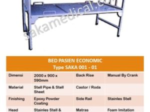 bed pasien non crank economic